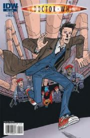 Doctor Who Ongoing #12 Grist Cover (2010) IDW Publishing comic book